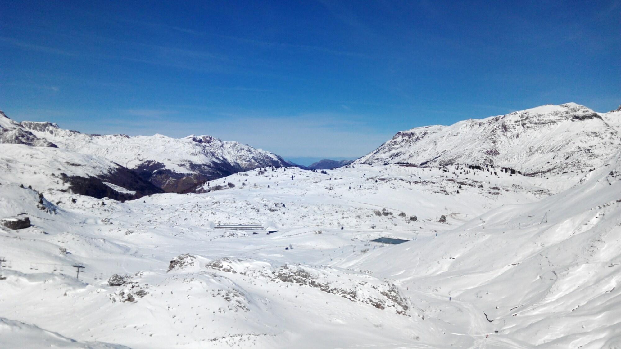 ultimas nevadas en Canfranc